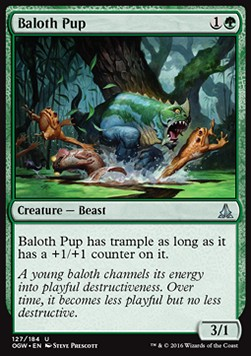 Baloth Pup, Oath of the Gatewatch