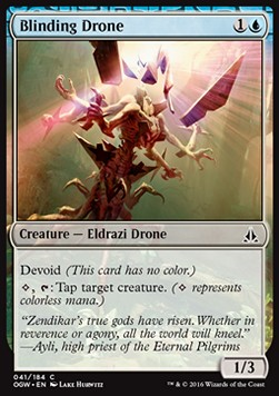 Blinding Drone, Oath of the Gatewatch