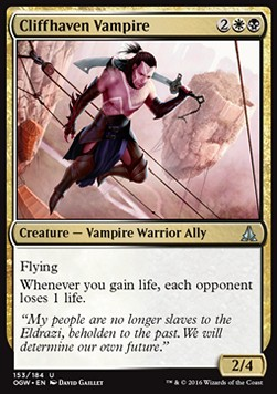Cliffhaven Vampire, Oath of the Gatewatch