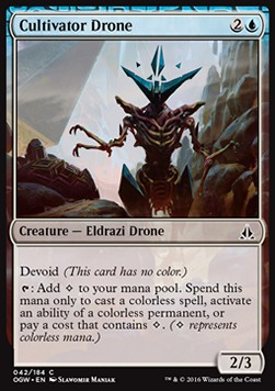 Cultivator Drone, Oath of the Gatewatch