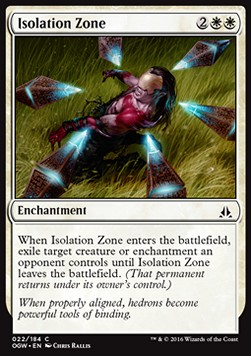 Isolation Zone, Oath of the Gatewatch