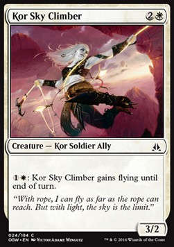 Kor Sky Climber, Oath of the Gatewatch