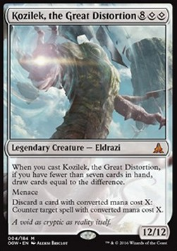 Kozilek, the Great Distortion, Oath of the Gatewatch