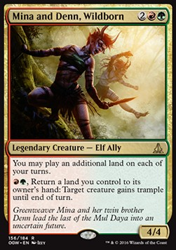 Mina and Denn, Wildborn, Oath of the Gatewatch