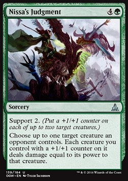 Nissa's Judgment, Oath of the Gatewatch