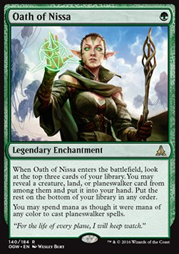 Oath of Nissa, Oath of the Gatewatch