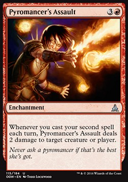 Pyromancer's Assault, Oath of the Gatewatch