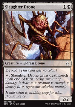 Slaughter Drone, Oath of the Gatewatch