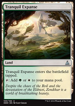 Tranquil Expanse, Oath of the Gatewatch