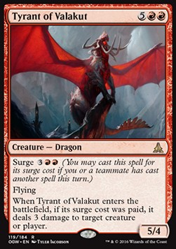 Tyrant of Valakut, Oath of the Gatewatch