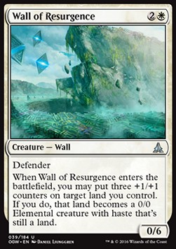 Wall of Resurgence, Oath of the Gatewatch