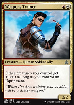 Weapons Trainer, Oath of the Gatewatch