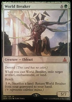 World Breaker, Oath of the Gatewatch