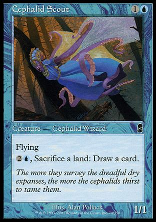 Cephalid Scout, Odyssey