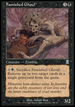 Famished Ghoul, Odyssey