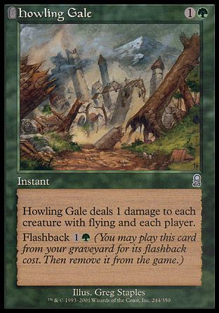 Howling Gale, Odyssey