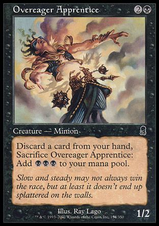 Overeager Apprentice, Odyssey