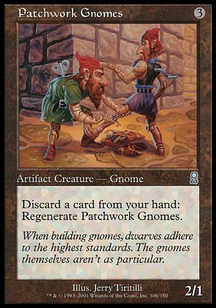 Patchwork Gnomes, Odyssey