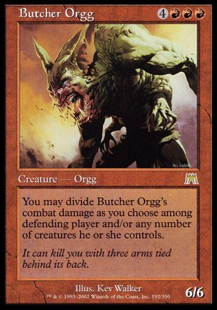 Butcher Orgg, Onslaught