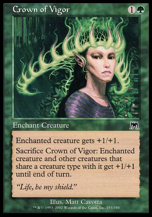 Crown of Vigor, Onslaught