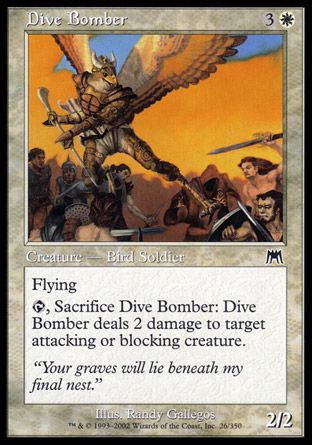 Dive Bomber, Onslaught
