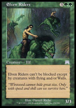 Elven Riders, Onslaught
