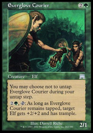 Everglove Courier, Onslaught