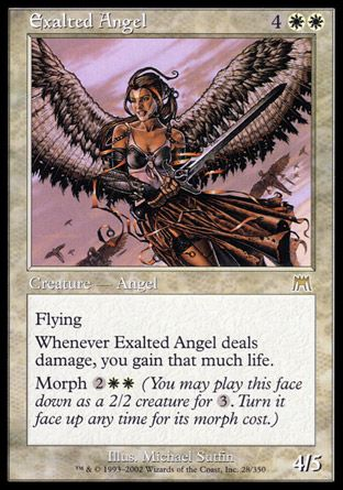 Exalted Angel, Onslaught