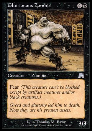 Gluttonous Zombie, Onslaught
