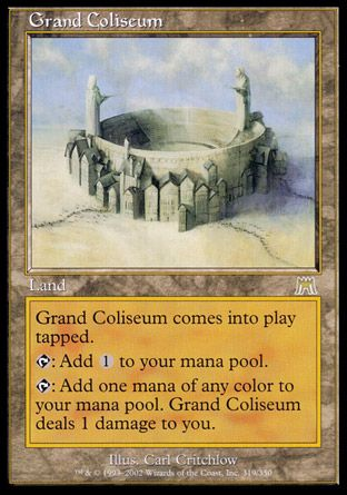 Grand Coliseum, Onslaught