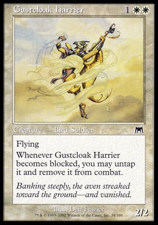 Gustcloak Harrier, Onslaught