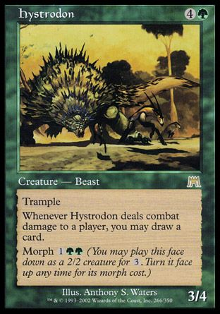 Hystrodon, Onslaught