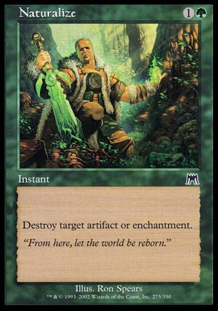 Naturalize, Onslaught