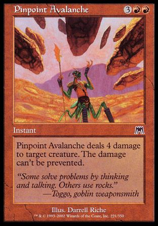 Pinpoint Avalanche, Onslaught