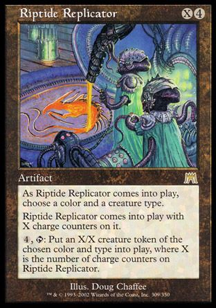 Riptide Replicator, Onslaught
