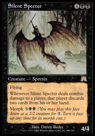 Silent Specter, Onslaught