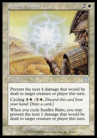 Sunfire Balm, Onslaught