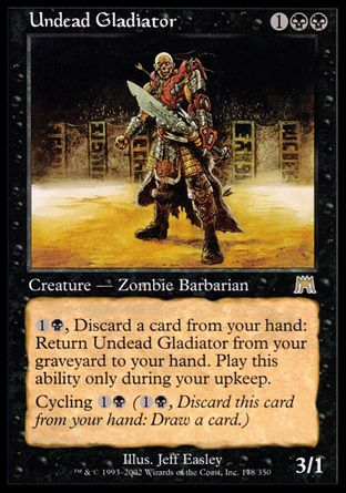 Undead Gladiator, Onslaught