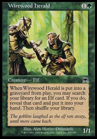 Wirewood Herald, Onslaught