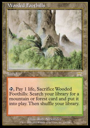 Wooded Foothills, Onslaught