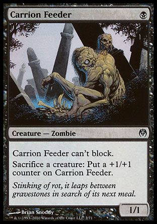 Carrion Feeder, Phyrexia vs The Coalition