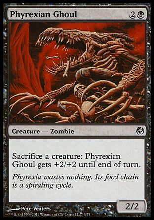 Phyrexian Ghoul, Phyrexia vs The Coalition