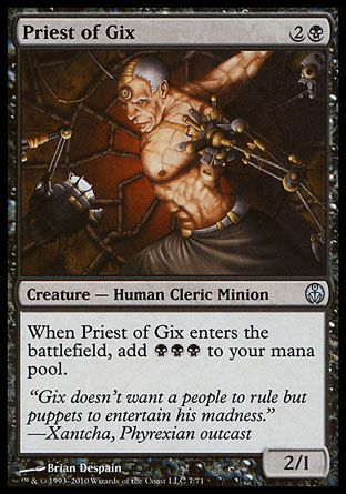 Priest of Gix, Phyrexia vs The Coalition