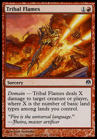 Tribal Flames, Phyrexia vs The Coalition