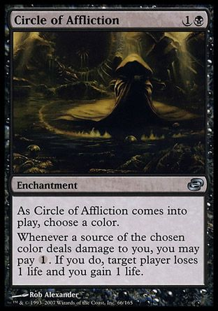 Circle of Affliction, Planar Chaos