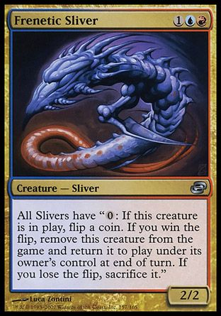 Frenetic Sliver, Planar Chaos
