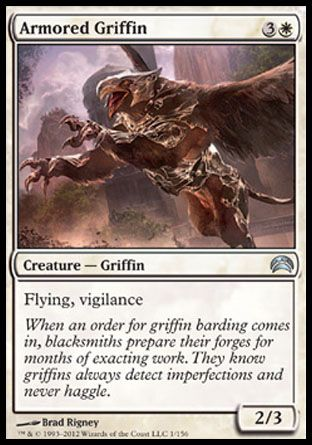 Armored Griffin, Planechase 2012