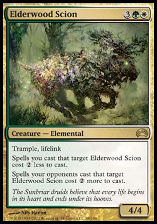 Elderwood Scion, Planechase 2012