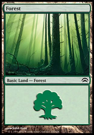 Forest, Planechase 2012