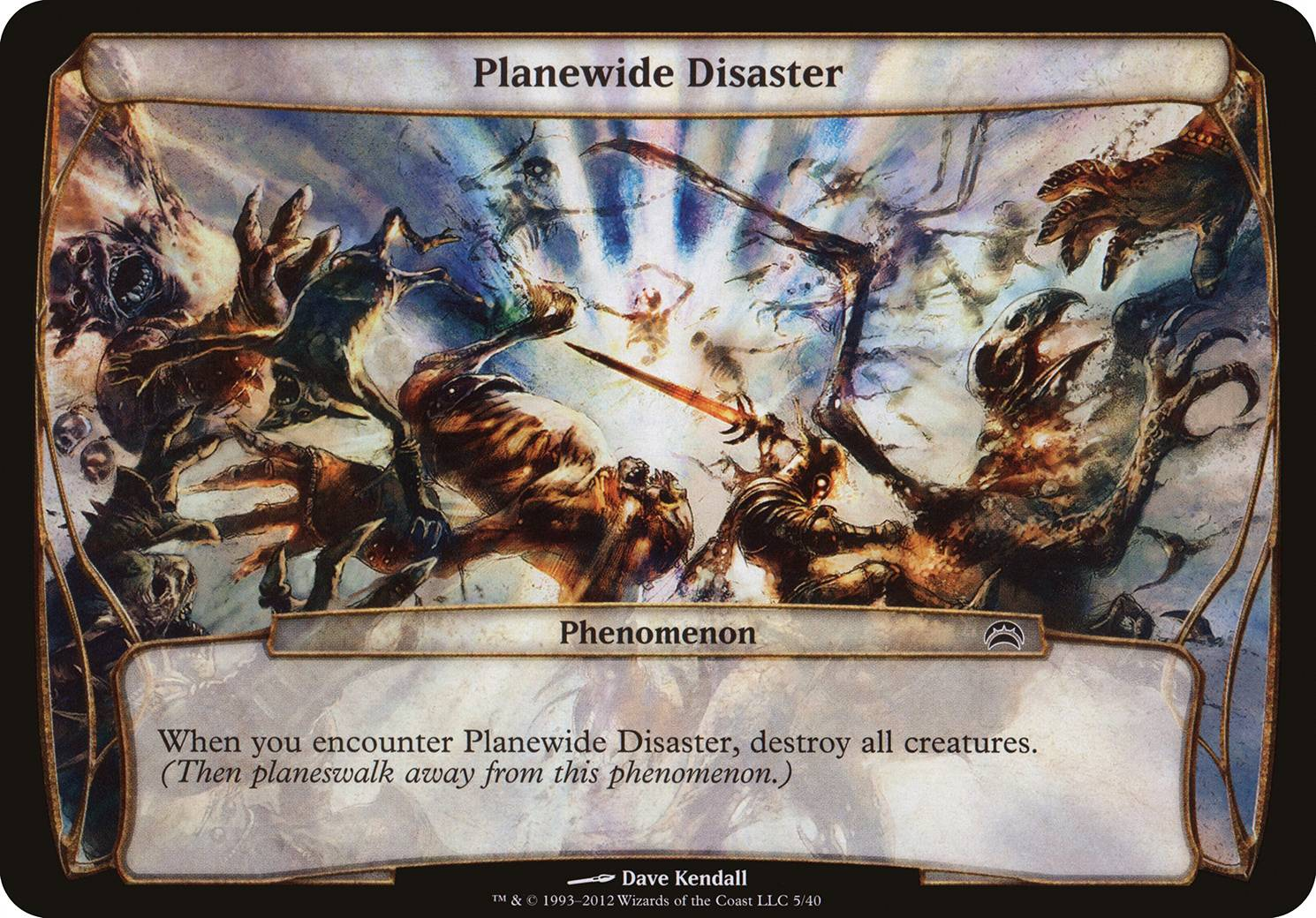 Planewide Disaster, Planechase 2012